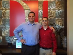 J.H. with Richard James