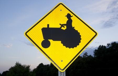 Rural road sign