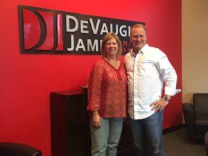C.W. with attorney Dustin DeVaughn