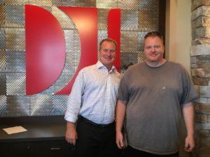 D.B. with attorney Dustin DeVaughn