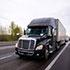 Semi-truck on highway thumbnail