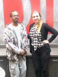 K.B. with Attorney Jessica Brunken