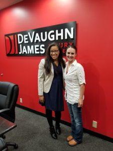 J.S. with attorney Jasmine Fields