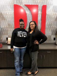 A.B. with attorney Jasmine Fields