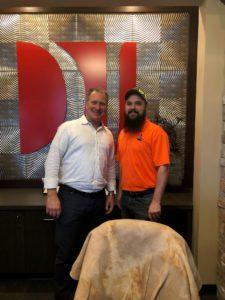 J.M. with Attorney Dustin DeVaughn