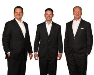 Kansas Attorneys Richard James, Cody Claassen and Dustin DeVaughn