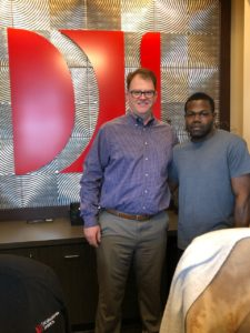 A.M. with Attorney Ted Davis