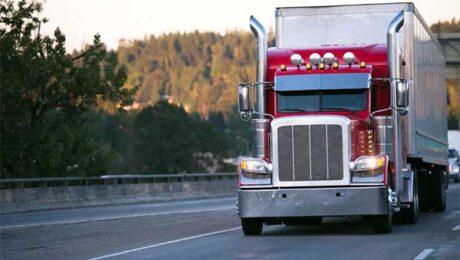 Big Rig Semi Truck on Highway