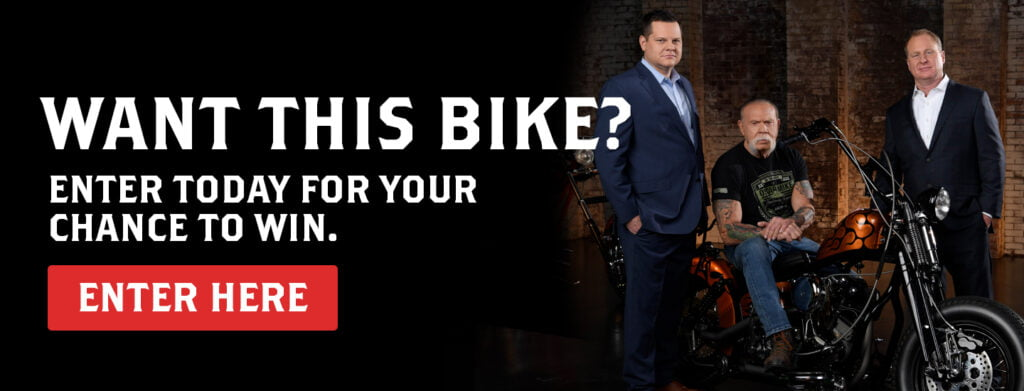 Motorcycle sweepstakes from DeVaughn James Injury Lawyers